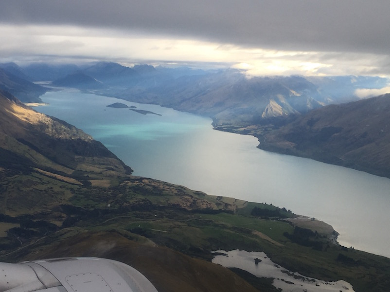 Anflug Queenstown, Wapatipu See